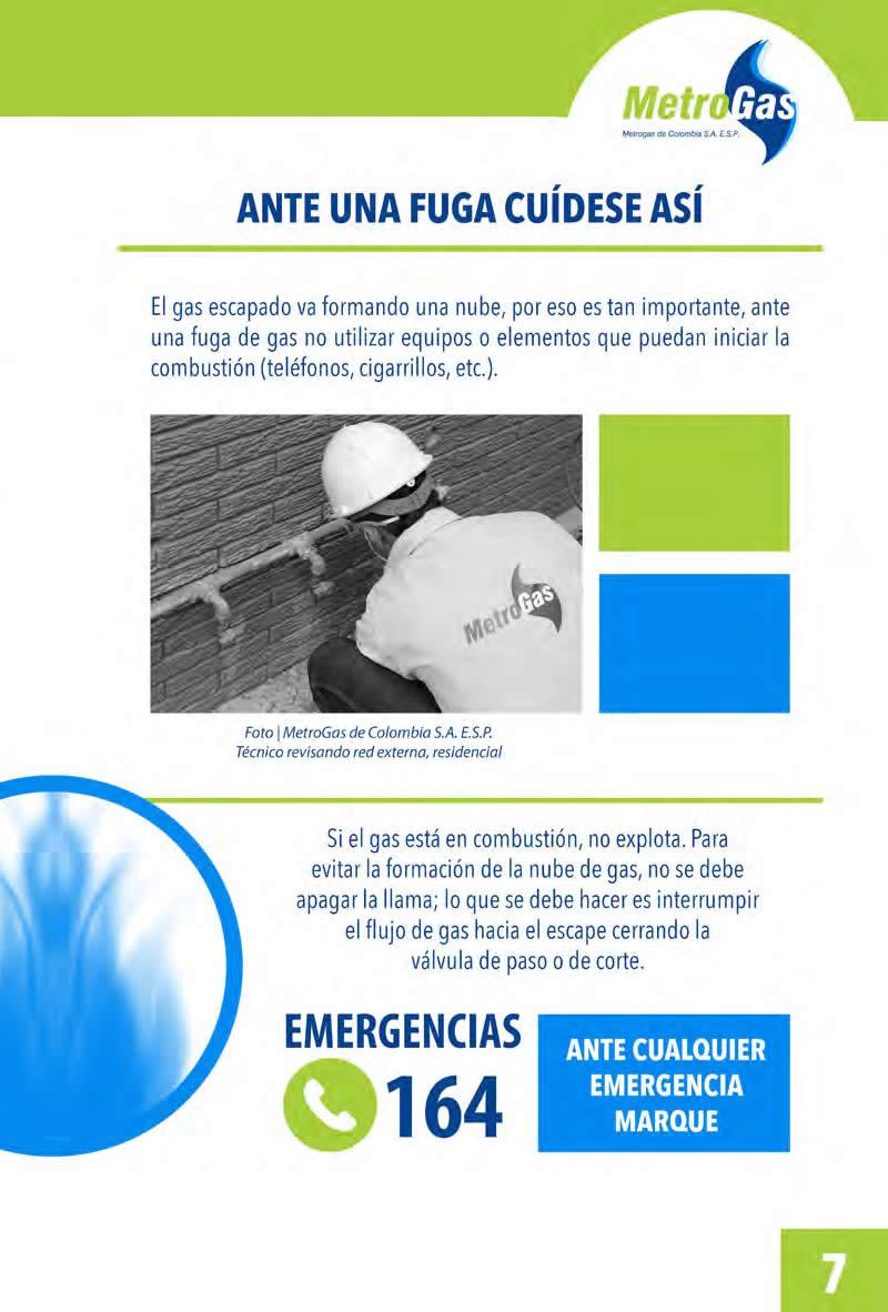 Manual del cliente Metrogas Bucaramanga